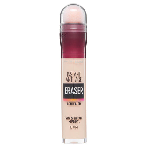 Maybelline Eraser Eye Concealer, 00 Ivory, 6.8 ml