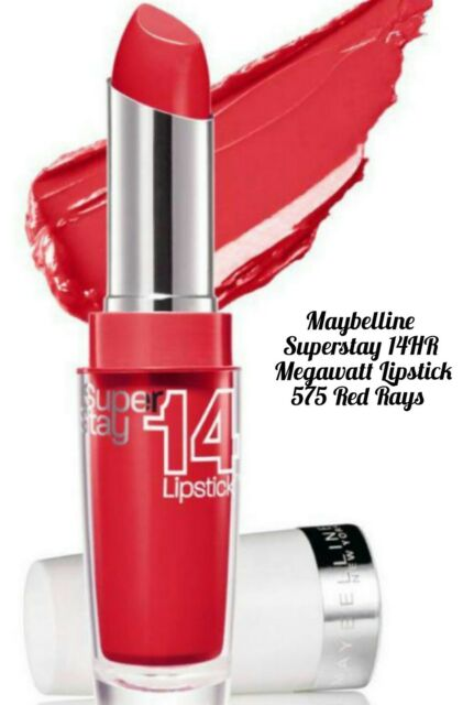 Maybelline Superstay 14H Lipstick Red Rays