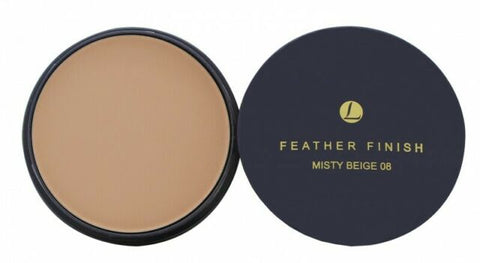 Mayfair Feather Finish 08 Misty Beige Shade Face Powder Twist Lid Refill