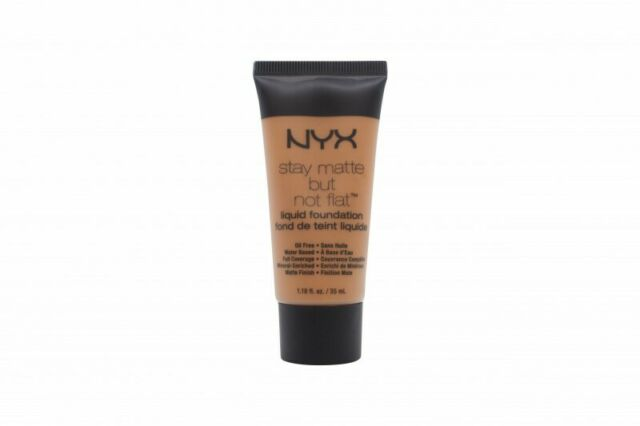 NYX Stay Matte But Not Flat Liquid Foundation - Deep Golden
