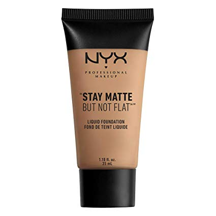 NYX Stay Matte But Not Flat Liquid Foundation 35ml - Sienna or Deep Golden[Sienna]