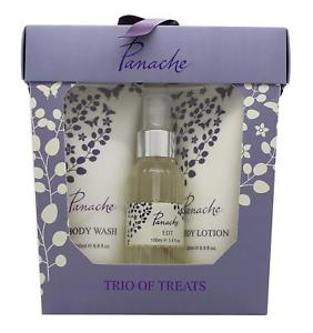 Panache Trio of Treats Gift Set by Taylor of London 100ml EDT  200ml Wash&Lotion