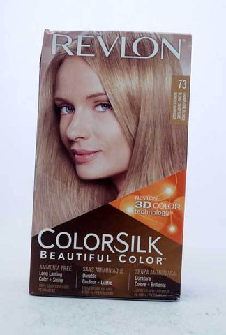 Revlon ColorSilk Beautiful 3D Color Champagne Blonde No. 73