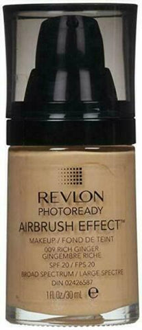Revlon Photoready Airbrush Mousse Foundation Rich Ginger 070