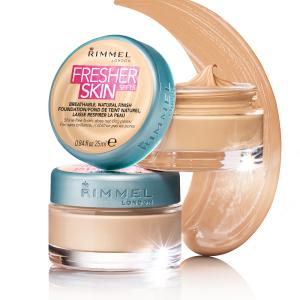 Rimmel Fresher Skin Foundation SPF15 25ml Choose from 5 Shades[Classic Beige 201]