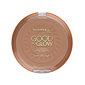 Rimmel Good To Glow Maxi Bronzer Face and Body Bronzing Powder. Sand or Amber[Sand 001]