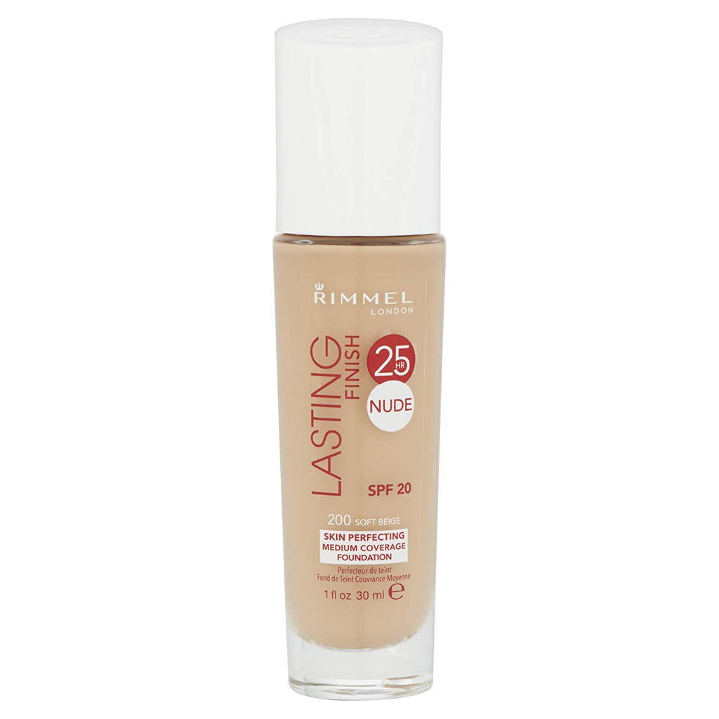 Rimmel Lasting Finish Nude Foundation, Soft Beige