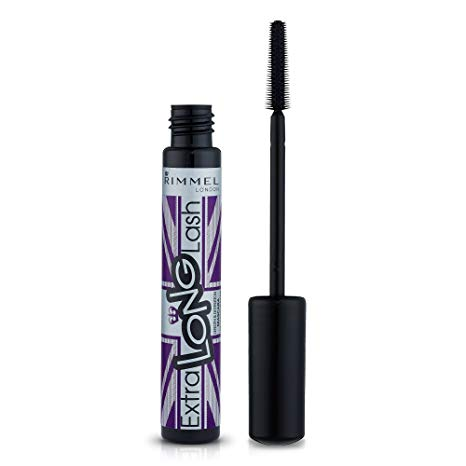 Rimmel London Extra Long Lash Mascara, Extreme Black, 8 ml