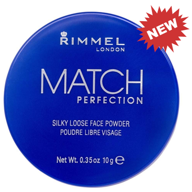 Rimmel London Match Perfection Silky Loose Face Powder Translucent No.001