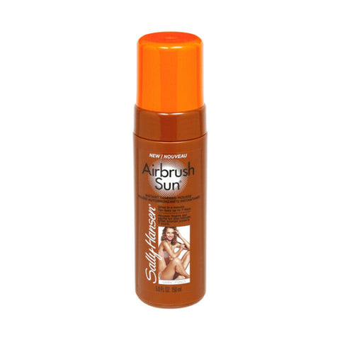 Sally Hansen Airbrush Sun Instant Tanning Mousse - Medium or Dark 150ml[Dark]