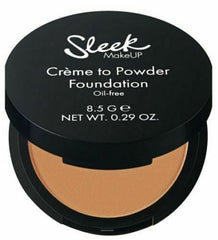 Sleek Make Up Creme to Powder Foundation Oil Free Choose from 7 Shades[C2P08]
