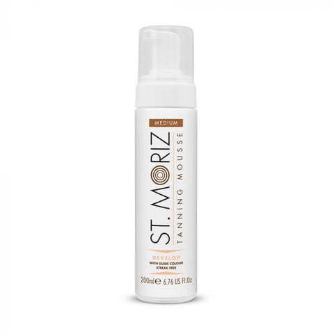 St Moriz Instant Self Tanning Mousse - Medium 200 ml