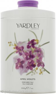 Yardley London April Violets Perfumed Talc