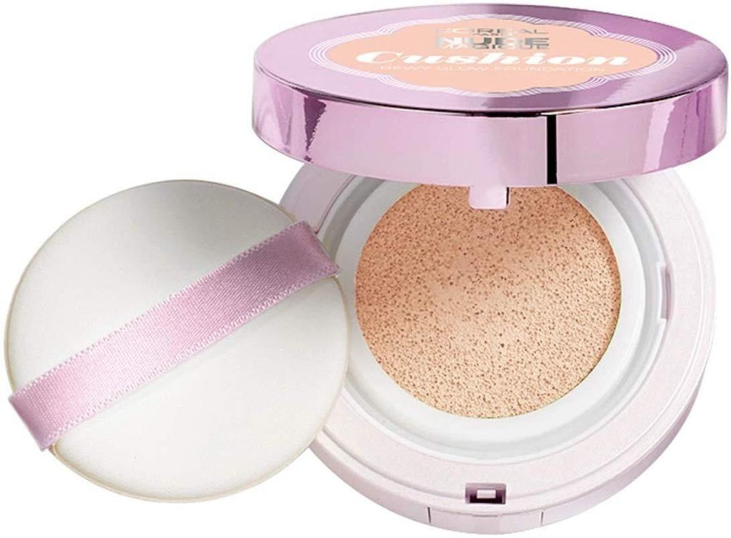 L'Oreal Nude Magique Cushion Dewey Glow Foundation Rose Vanilla 04