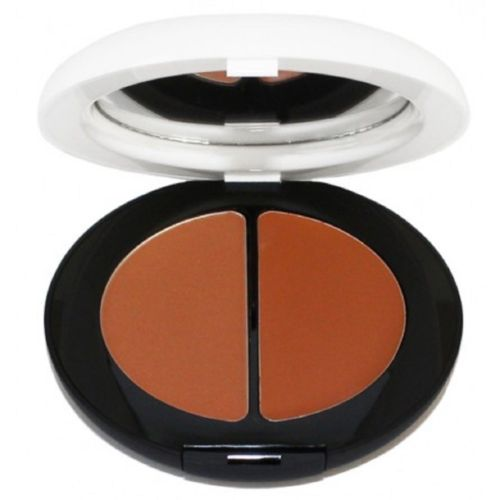 Calvin Klein CK One Cream + Powder Bronzer Duo - Deeply Bronzed 400 - Boxed