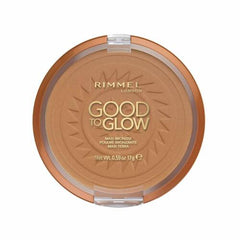Rimmel Good To Glow Maxi Bronzer Face and Body Bronzing Powder. Sand or Amber[Amber 002]