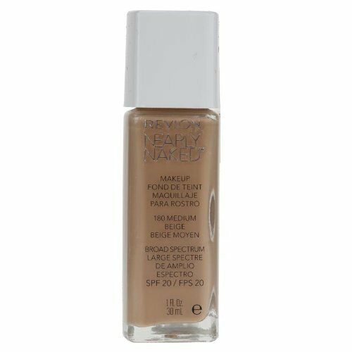 Revlon Nearly Naked Make Up Foundation Choose From 6 Shades[Medium Beige 180]