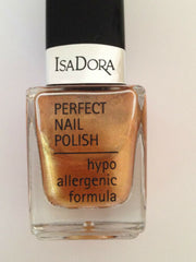 Isa Dora Perfect Nail Polish choose from 16 shades[Bronzing Gold 124]