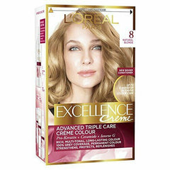 L'Oreal Paris Excellence Creme Advanced Triple Care Creme Permanent Colour [Blonde 8]
