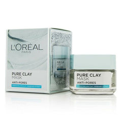 L'Oréal Pure Clay Mask Anti-Pores Moroccan Lava Clay + Rosemary Extract 50g