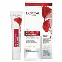 (Day Cream) - L'Oreal Paris Centella Repair Anti-Wrinkle Cica Cream 40 ml