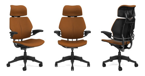 back care basics is an authorized humanscale retailer and we are offering this very popular version of the freedom chair done in promessa - Freedom Chair