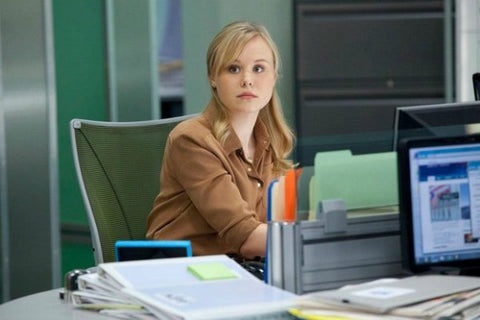 HBO The Newsroom cast member Alison Pill in her Liberty Chair