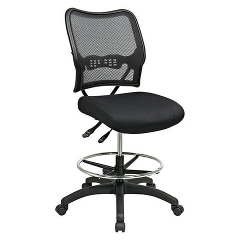 Deluxe Air Grid Dual Action Drafting Chair