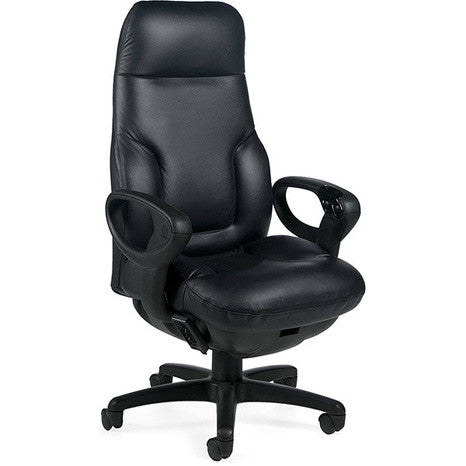 Concorde Pulsor Massage Leather Executive Chair ...