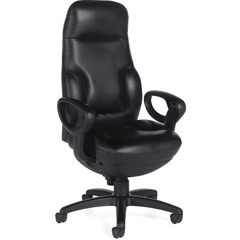 Concorde 24 Hour Leather Quick Ship Executive Chair