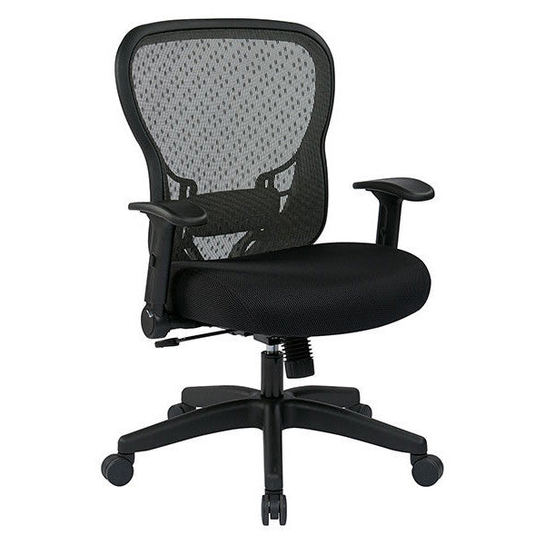 adjustable flip arm ergonomic task chair backcare basics