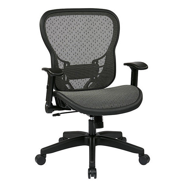 All Mesh Adjustable Flip Arm Task Chair