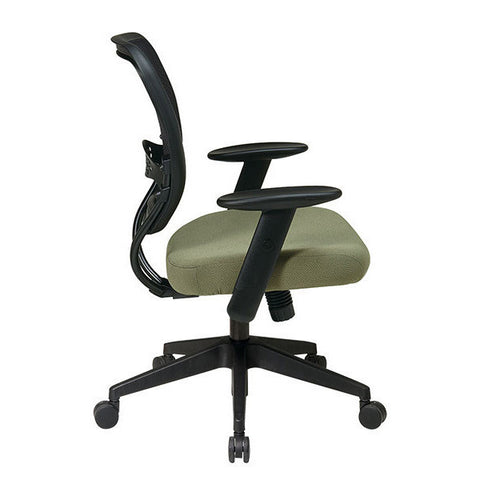 55 Series Custom Padded Seat Mesh Chair