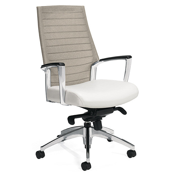Accord Mesh Back Tilting Chair Shown with Desert Sand Mesh