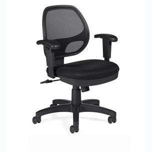 orbiter mesh back office chair – backcare basics