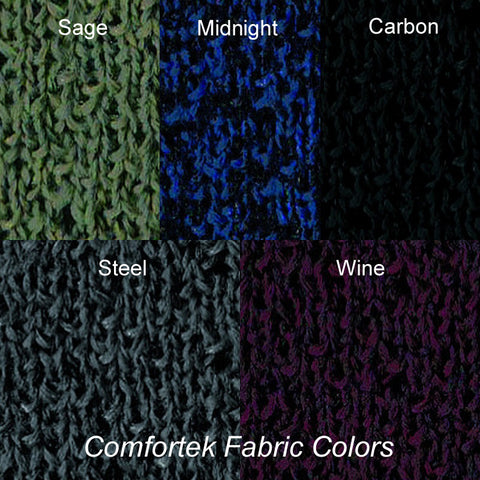 Here Are the Five Comfortek Fabric Colors Available for Quick Ship