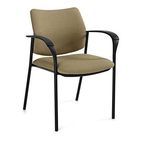 Sidero Upholstered Guest Arm Chair