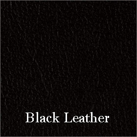 Leather (450/550) Seat Fabric Shown in Black