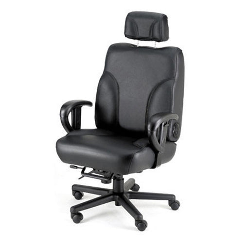 Backsaver Big & Tall 24-7 Leather Combo Office Chair