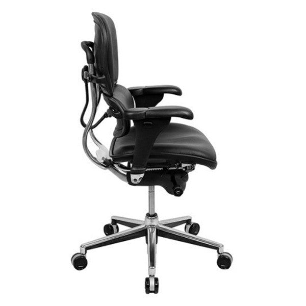 Ergohuman All Leather Ergonomic Mid Back
