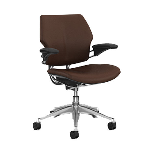 Humanscale Freedom Leather Task Chair Humanscale Freedom Leather Task Chair  ...