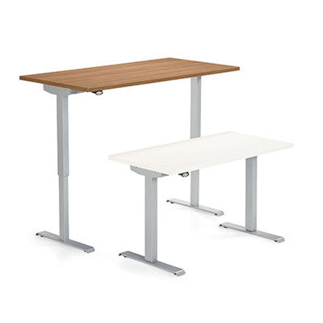 Foli Sit-to-Stand Desk by Global