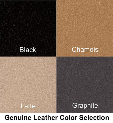 Vion Genuine Leather Color Selection for Seat Cushion