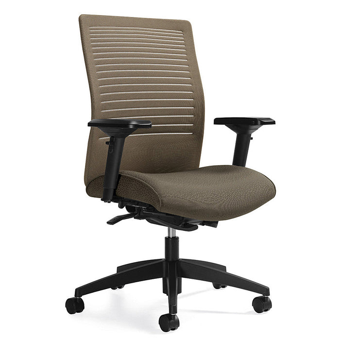 Loover Medium Back Weight Sensing Tilting Chair