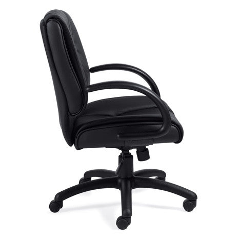 OTG2701 Luxhide Mid-Back Chair
