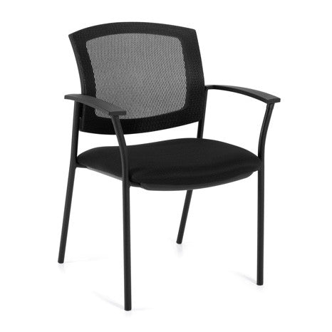 OTG2809 Mesh Back Guest Arm Chair