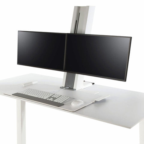 Humanscale Desk Top Sit Stand Dual Monitors