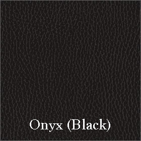 Luxurious Softhide Vinyl Seat Fabric Shown in Onyx