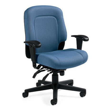 Saxon Swing Away Arm 24/7 Ergonomic Chair