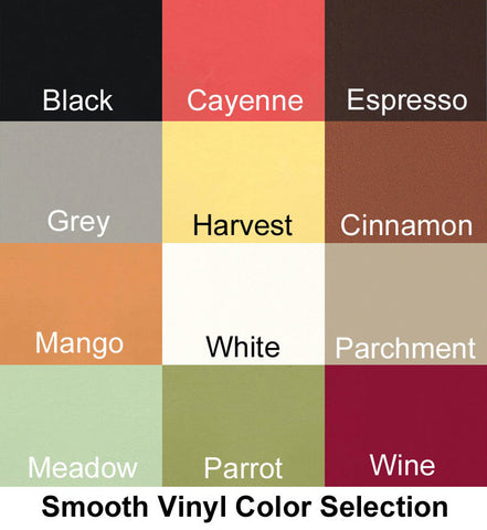 Graphic Smooth Vinyl Color Selection